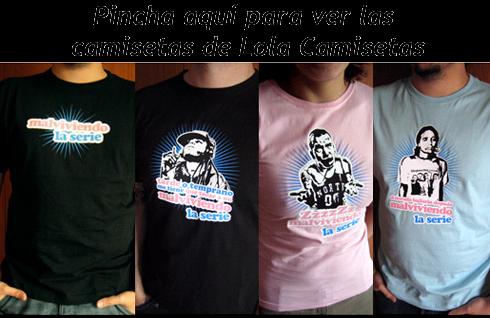 Camisetas de Malviviendo en Lola Camisetas