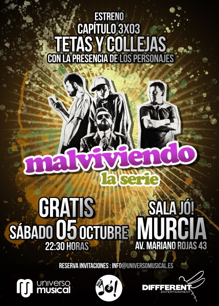 Cartel 3x03 Murcia (2)