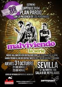 Cartel 3x04 Sevilla