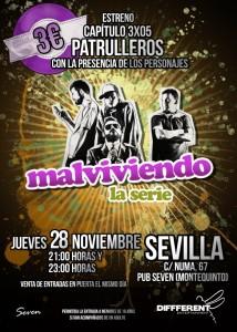 Cartel 3x05 Sevilla