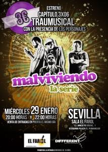Cartel 3x06 Sevilla