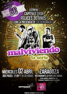 Cartel 3x08 Zaragoza 1